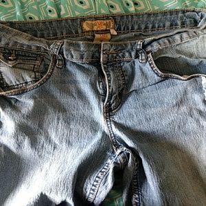 YMI jean shorts